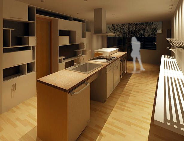Level 1 Kitchen
