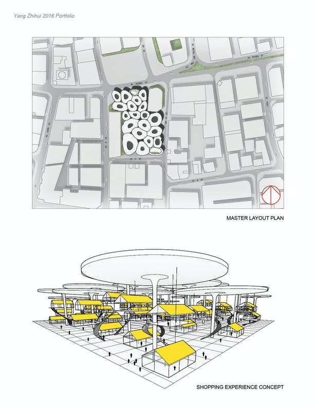Commercial Complex Design in Dubai | Zhihui YANG | Archinect