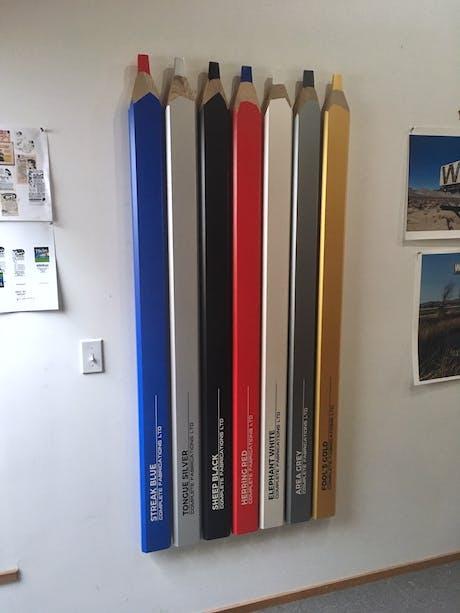 Conceptual Artist's Pencil Set