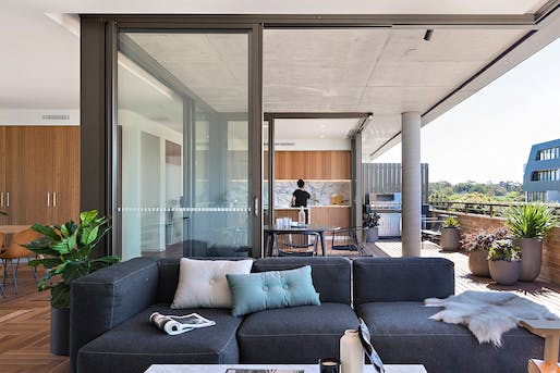 Aaron Bolot Award for Residential Architecture: The Rochford. Photo: Benjamin Hosking.