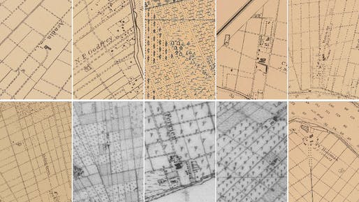 Cemetery Marking Samples, Image: Forensic Architecture, 2021