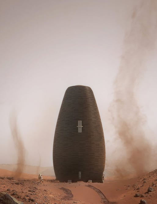 MARSHA by AI SpaceFactory. Rendering: AI SpaceFactory + Plomp.