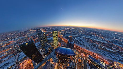 Aerial view of Moscow. Photo: Andrew Willard/Flickr.