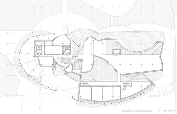 The Public City - arts center floor 6 plan