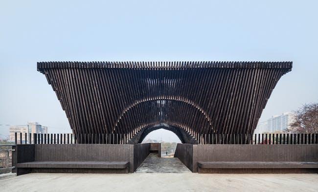 David Adjaye and Taiye Selasi's 'Gwangju River Reading Room', image credit Kyungsub Shin.