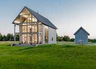 Barn House With a View