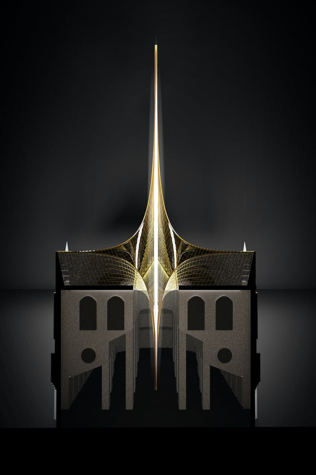 Notre Dame's Spine_OF STUDIO_Concept_Image_Section