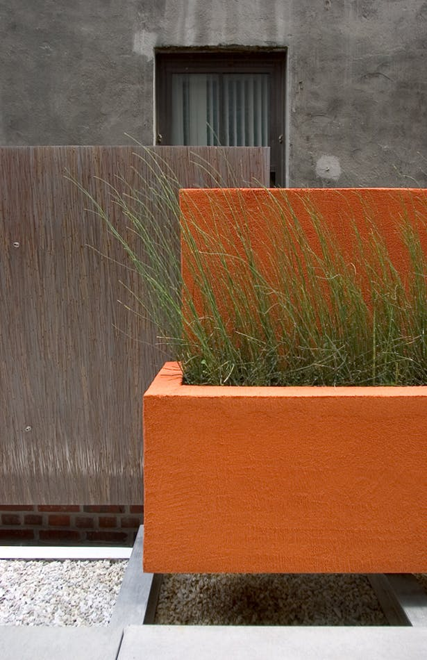 CHELSEA ROOF TERRACE – Sitting area detail