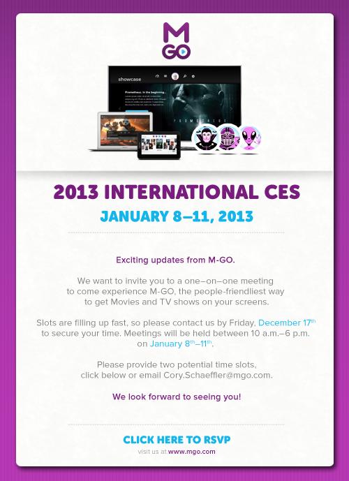 email invite design