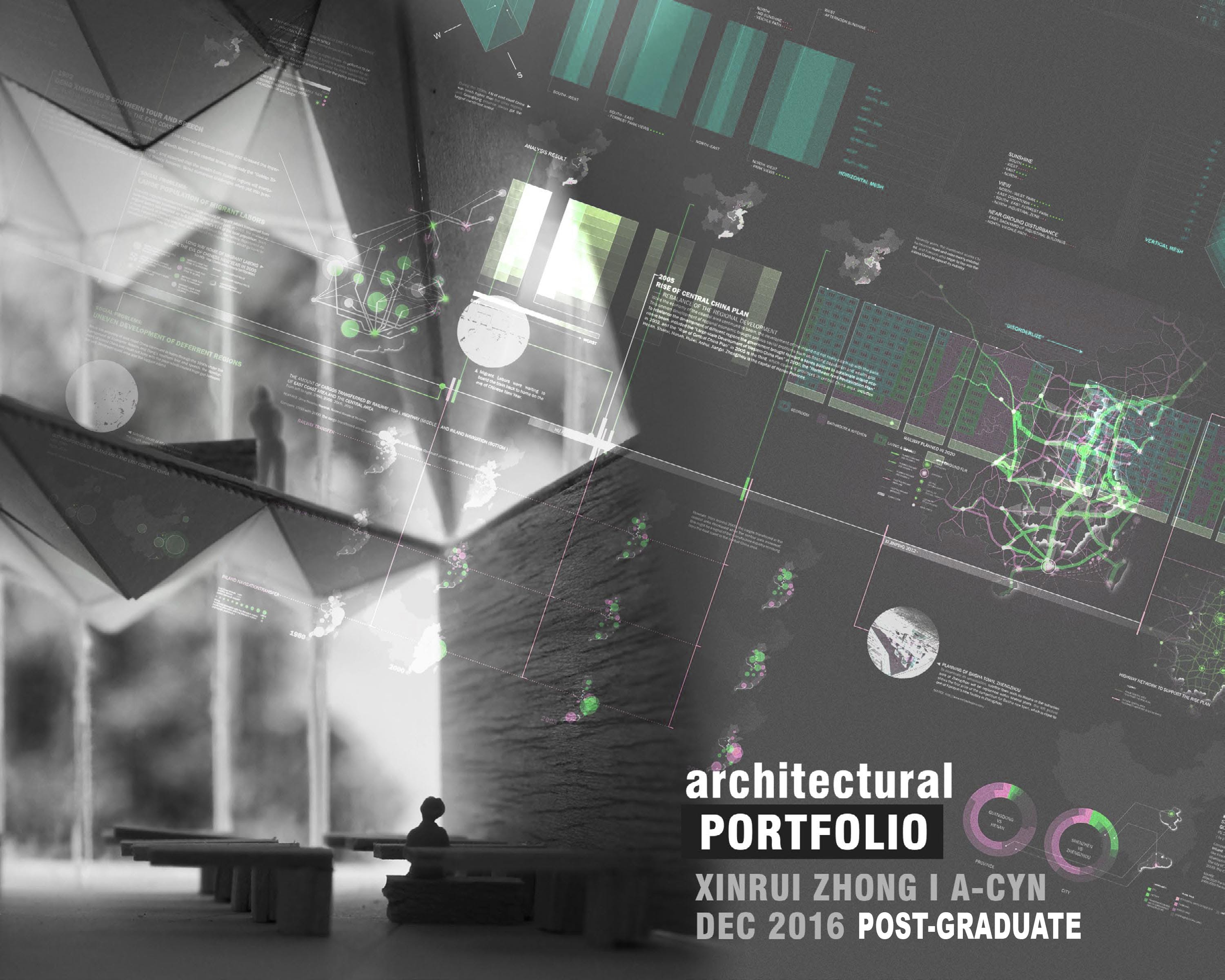 Top Architecture Firms In The Us Portfolio Cover Page Xinrui Zhong Archinect