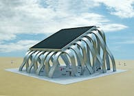 The Solar Eclipse Pavilion (a place to gather under the sun)