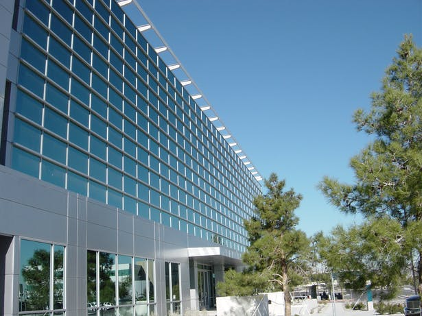 # story steel, glass, ans metal panel office building for Marnell Properties