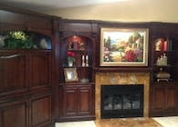 rhodes residence custom entertainment center