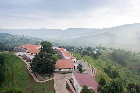 2011 Design Milestone: Butaro Hospital in the Burera District of Rwanda by MASS Design Group. (Photograph by Iwan Baan)