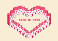 2017 Valentine card Competition (Archdaily). title: 'What is Love'