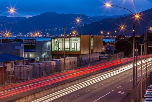 Education - WelTec School of Construction, Wellington by Designgroup Stapleton Elliott.