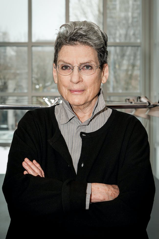 Phyllis Lambert, Founding Director Emeritus of the CCA and 2014 Laureate for the Golden Lion for Lifetime Achievement. (Photo: CNW Group/Canadian Centre for Architecture)