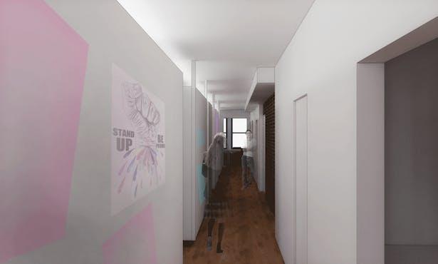 proposed hallway