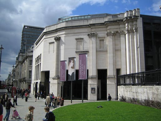 The Sainsbury Wing at the National Gallery in London. Photo via Wikipedia.