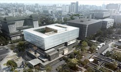 Büro Ole Scheeren reveals design of new Guardian Art Center hybrid auction house in Beijing