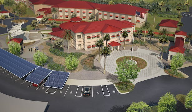Wounded Warrior Headquarters Building