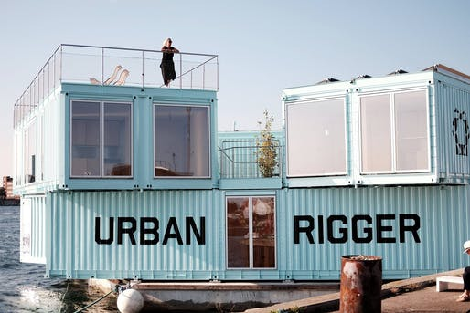 Buckminster Fuller Challenge Catalyst Program initiative: BIG's Urban Rigger prototype. Photo via Urban Rigger/Facebook.