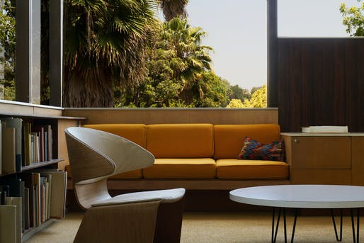 """Head over to the Neutra VDL House for a book reading + signing of Aris Janigian's """"Waiting for Lipchitz at Chateau Marmont"""" this Saturday. Photo credit: Neutra VDL House."""