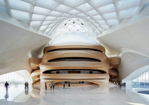 Finalist in the category 'Architecture - Commercial and institutional buildings over 1,000 square meters:' Opera House in Harbin, China by MAD Architects