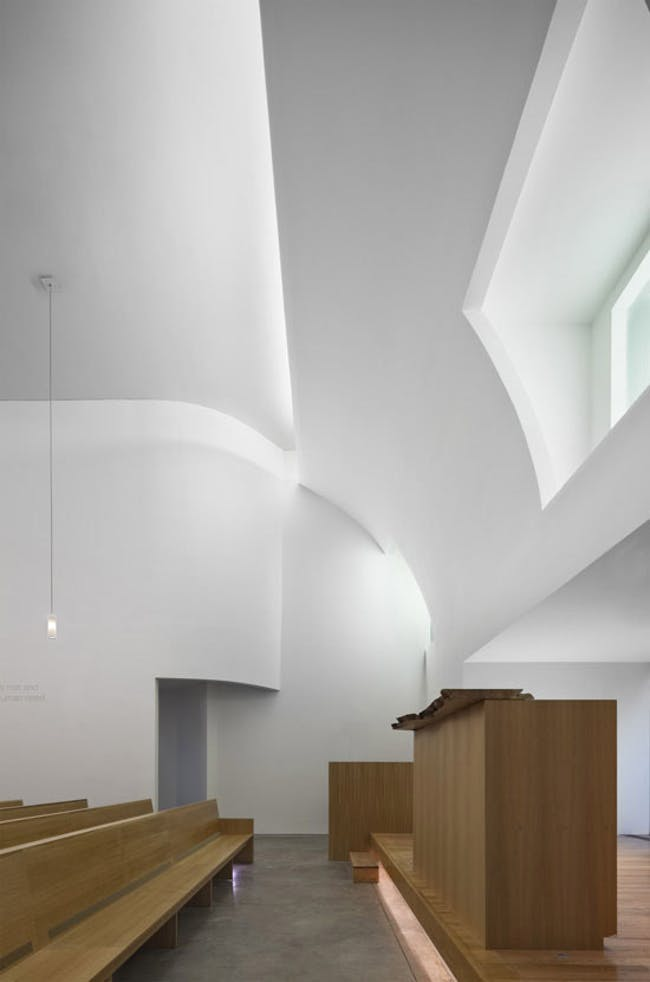 Infinity Chapel in New York, NY by Hanrahan Meyers Architects