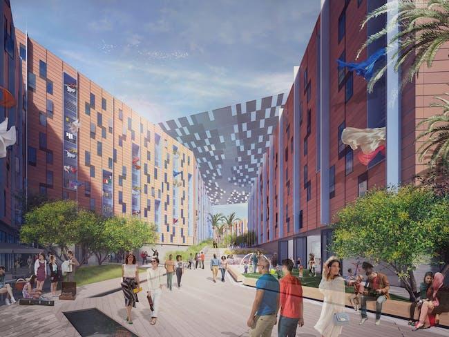 Architecture at Zero 2015 - HONOR AWARD: 'Estuary' by MITHUN | San Francisco, CA. Image courtesy of UCSF + Architecture at Zero 2015 competition.