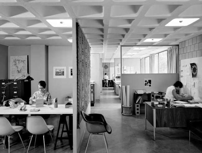 TAC Offices, Cambridge, Massachusetts, 1967. Photo: Ezra Stoller, Esto.