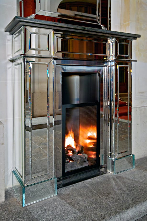 Philippe Starck fireplace by Bloch Design for Baccarat 2