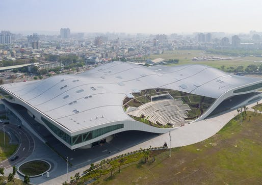 National Kaohsiung Centre for the Arts, Kaohsiung, Taiwan, 2018 by Mecanoo. Photographed by Gallardo Albajar and Sytze Boonstra.