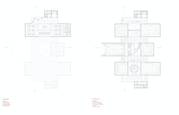 Third Floor + Fourth Floor