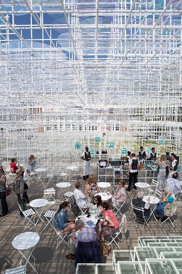 Serpentine Gallery Pavilion. Sou Fujimoto © Agnese Sanvito