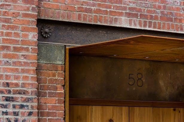Entrance detail © Jack M Kucy