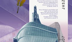 Canadian $10 bank note features Antoine Predock's Canadian Museum for Human Rights building