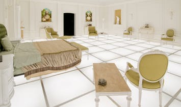 "An LA architect has recreated Kubrick's infamous ""2001"" bedroom scene"