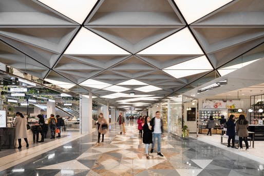 Monaro Mall, Canberra Centre (Canberra City) by Universal Design Studio and Mather Architecture. Photo: Dianna Snape.