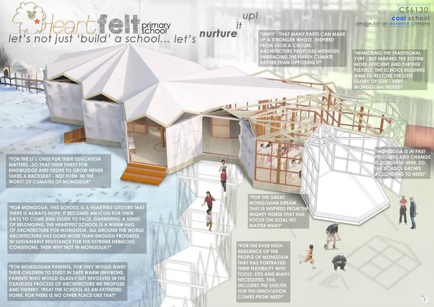 Cool School Design For An Extreme Climate
