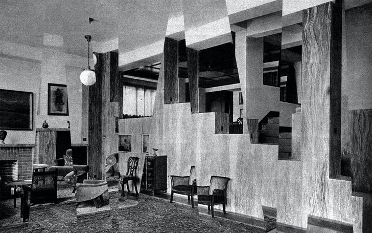 The Villa Müller by Adolf Loos.