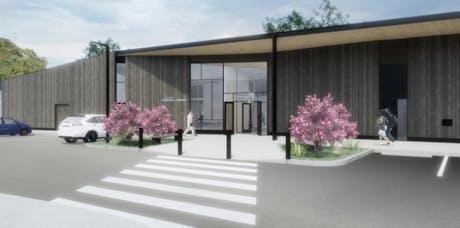 Milwaukie Ledding Library with Hacker Architects