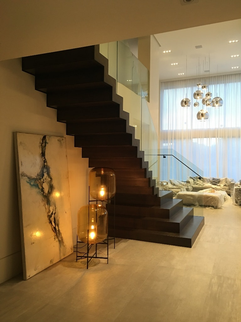 Glass Railings Without Stainless Steel Cap Rails