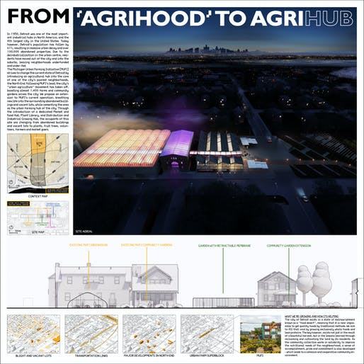 Second Place: From 'AgriHood' to AgriHUB Students: Callum Nolan, Ethan Paddock, Colin Williams, and Patrick Stephen