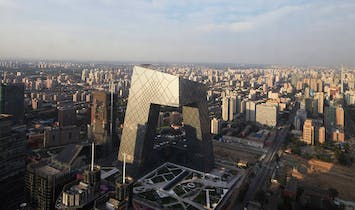 OMA-designed CCTV Headquarters in Beijing completed