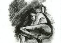 woman resting