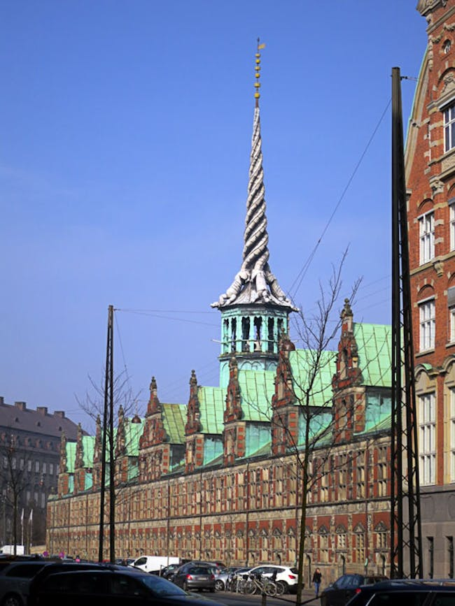 Dragon Spire of The Stock Exchange Building