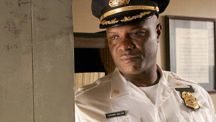 "Bob Wisdom in his role as Howard ""Bunny"" Colvin in HBO's The Wire. Image courtesy of LA Forum."