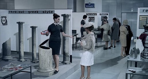 Has architecture become just a lifestyle choice? Image: still from 'Playtime' by Jacques Tati