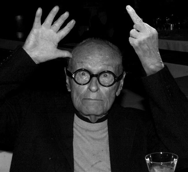 Philip Johnson. Image via supportingfrankgehry.tumblr.com
